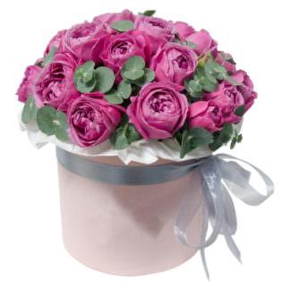 Цветы в коробке «Чародейка»